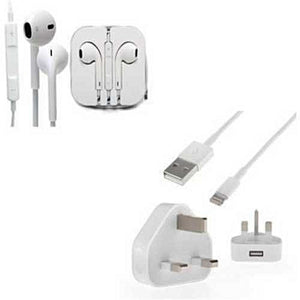 Iphone Charger Plus Earpiece White