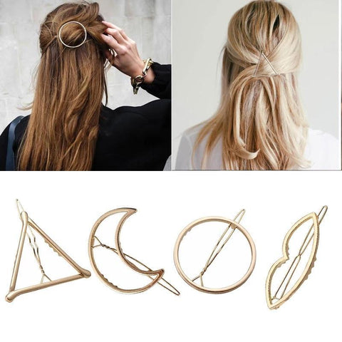 Fashion Woman Hair Accessories Triangle Hair Clip