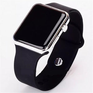 Digital Fashion Wristwatch - Black
