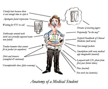 Load image into Gallery viewer, Anatomy of a Medical Student