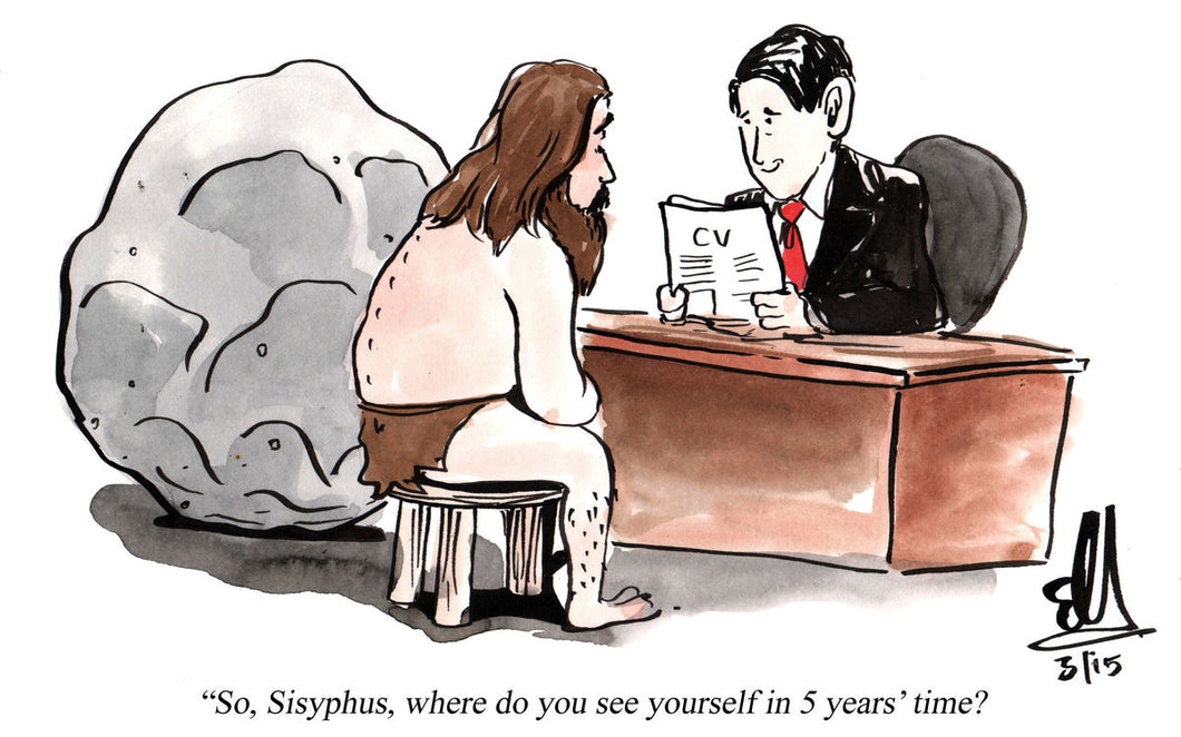 Sisyphys Job Interview