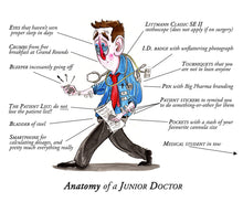 Load image into Gallery viewer, Anatomy of a Junior Doctor