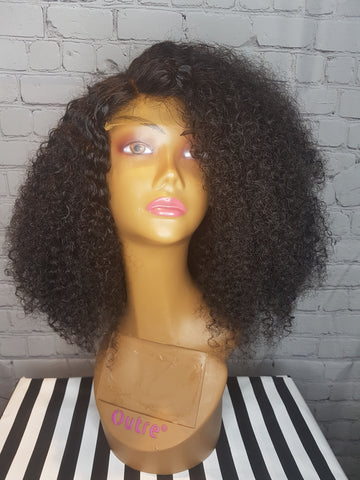 The Allen Avenue Beauty- Kinky Curly Wig Unit