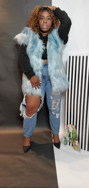 Carolina Faux Fur Vest