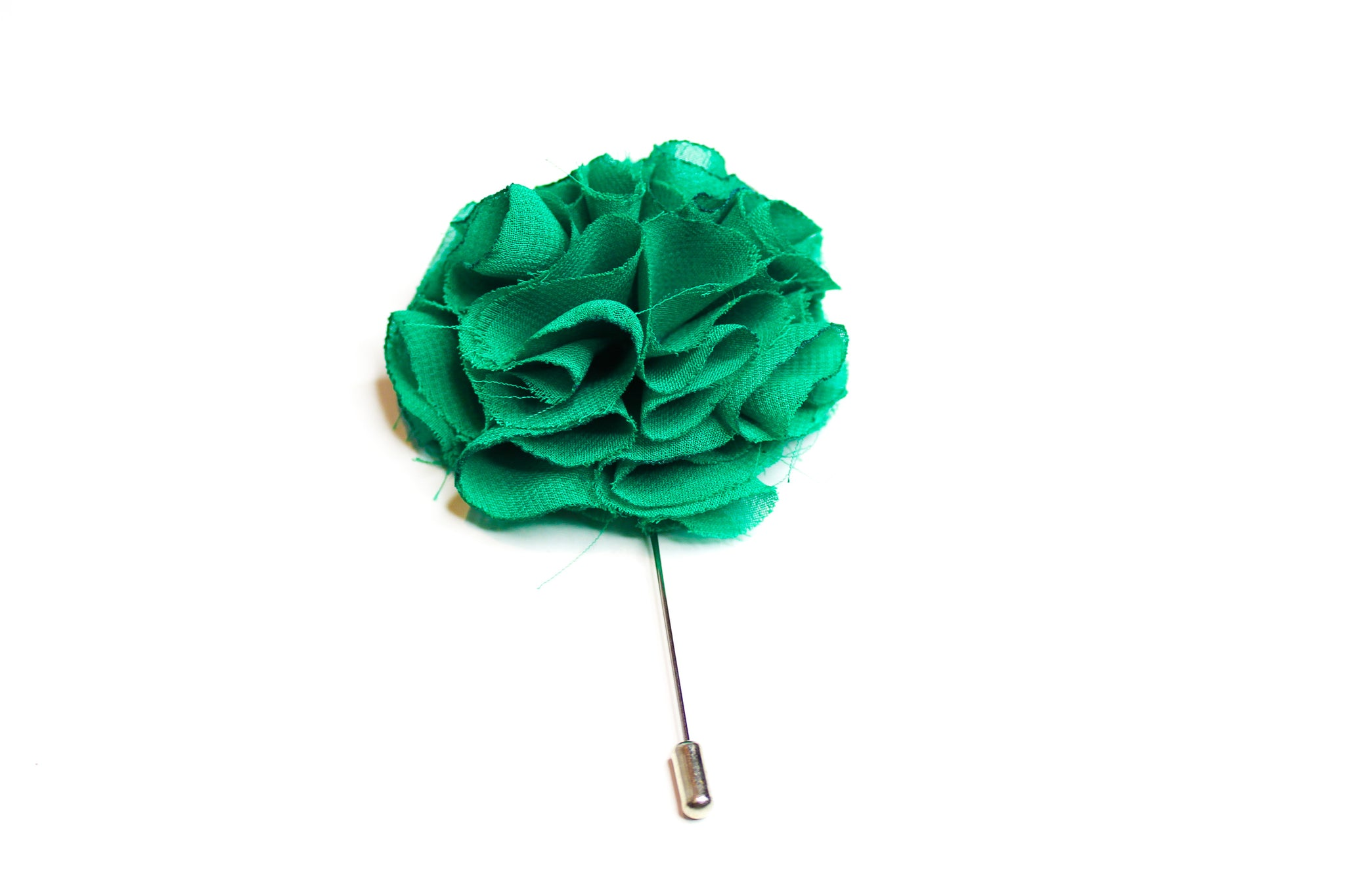 Green Fringe Lapel Pin