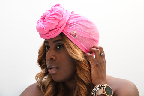 Pink Lemonade Headwrap