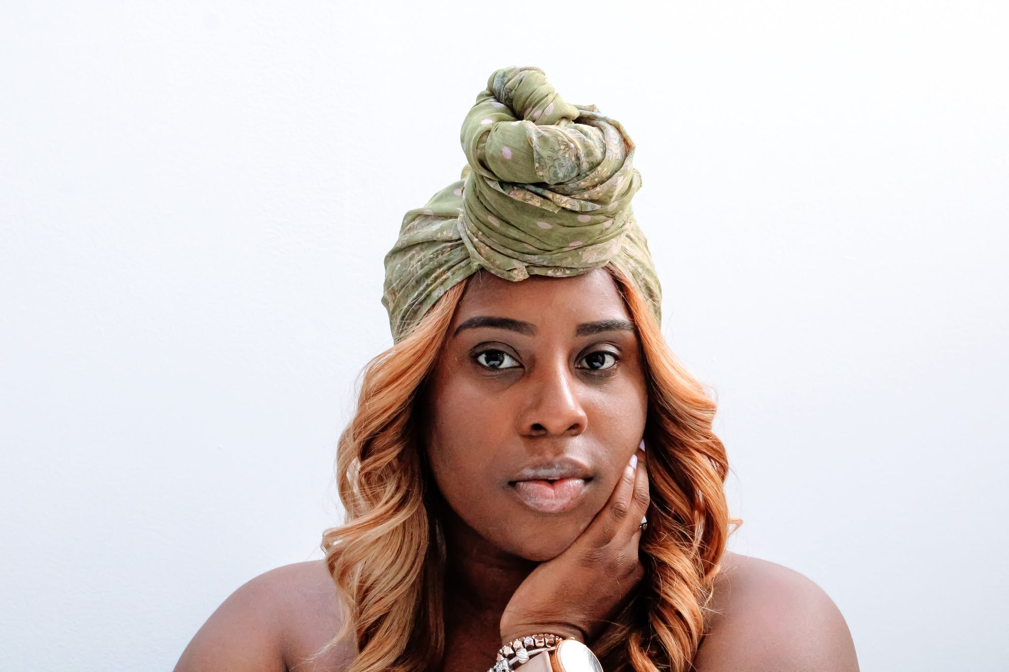 Lotus Sage Headwrap