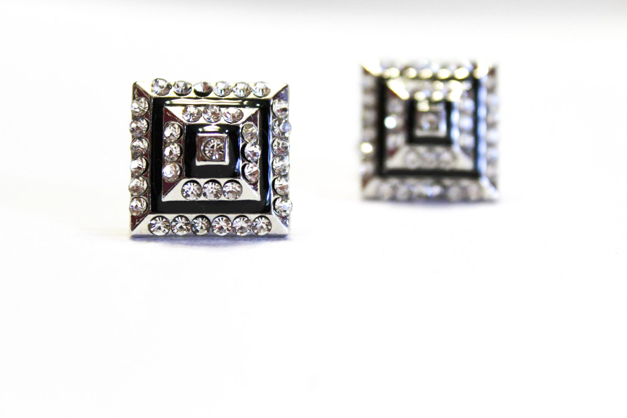 Diamond Square Cuff-Links