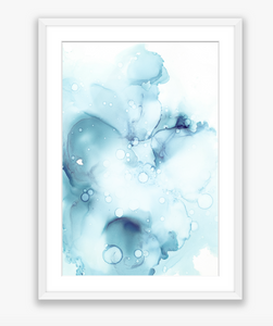 Alcohol Ink Celeste II