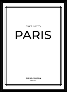 Take me to Paris - White