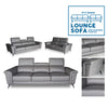 3+2 Greypoint Seater Lounge Sofa w/ reclinable headrest