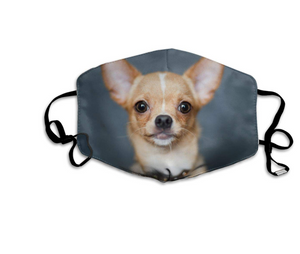 Chihuahua Puppy, with 2 Carbon Pocket Filters-Furbaby Friends Gifts