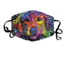 Load image into Gallery viewer, Colourful Retriever, with 2 Carbon Pocket Filters-Furbaby Friends Gifts