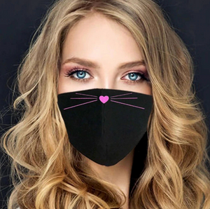 Kitty Whiskers Adjustable Mask, with 2 Free Carbon Pocket Filters-Furbaby Friends Gifts