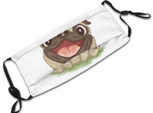 Load image into Gallery viewer, Happy Pug! With 2 Carbon Pocket Filters-Furbaby Friends Gifts