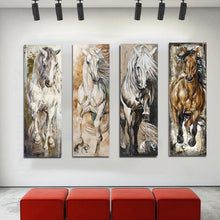 Load image into Gallery viewer, Beautiful Stallion Oil Prints (4 designs available)-Furbaby Friends Gifts