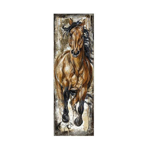 Beautiful Stallion Oil Prints (4 designs available)-Furbaby Friends Gifts