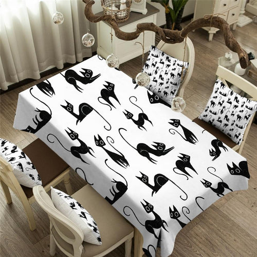Cat Tablecloth (Waterproof)-Furbaby Friends Gifts