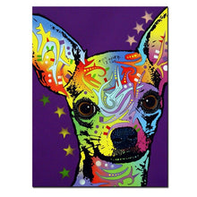 Load image into Gallery viewer, Chihuahua Canvas Oil Print-Furbaby Friends Gifts
