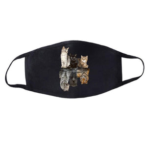 Crazy Cat Lady, Reusable Face Mask-Furbaby Friends Gifts