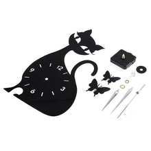 Load image into Gallery viewer, Cute Cat Clock-Furbaby Friends Gifts