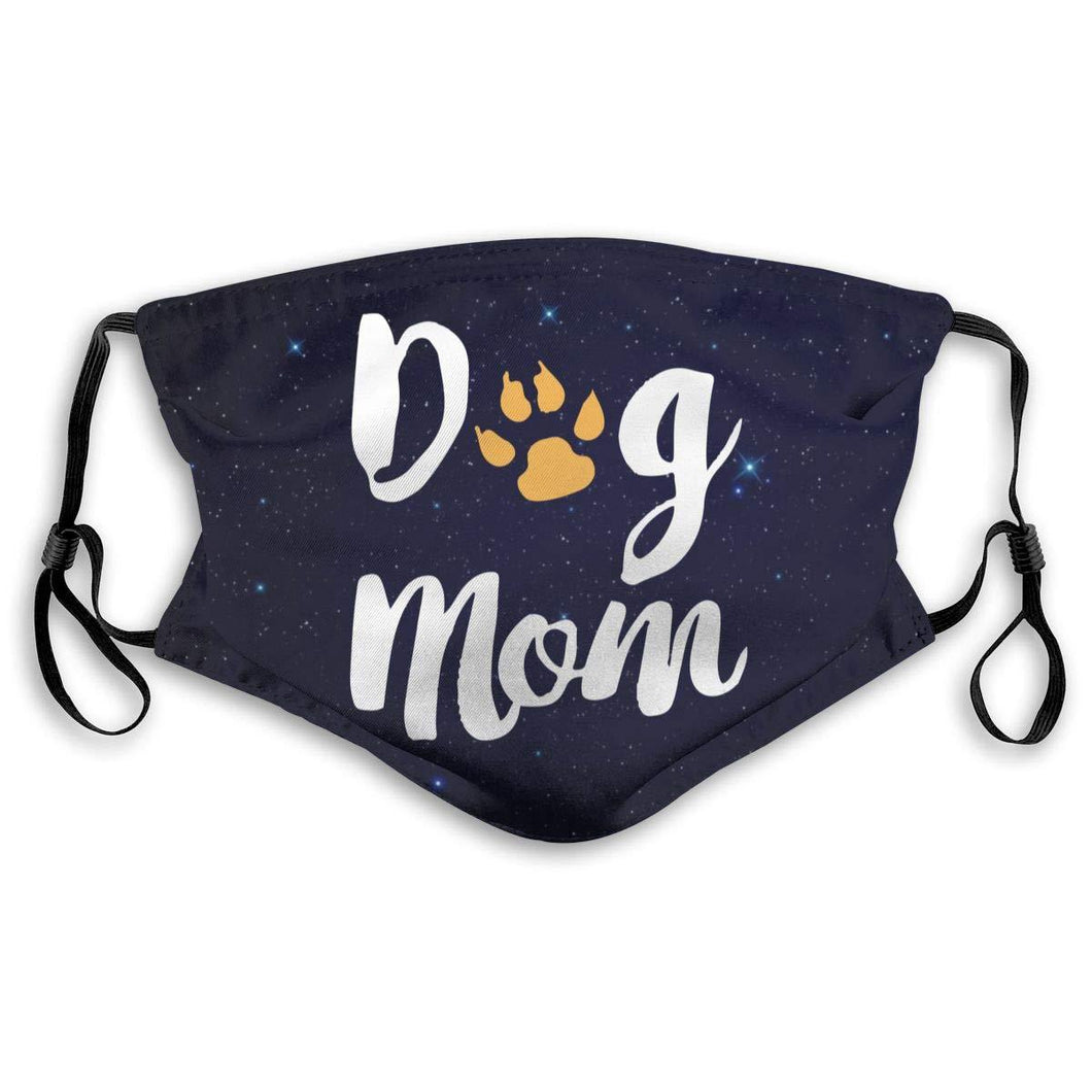 Dog Mom, with 2 Carbon Pocket Filters-Furbaby Friends Gifts