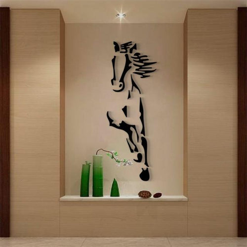 'Galloping Horse' Wall Mirror-Furbaby Friends Gifts