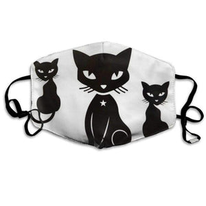 Gorgeous Black Cats, with 2 Carbon Pocket Filters-Furbaby Friends Gifts