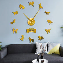Load image into Gallery viewer, I Love My Dogs Wall Clock-Furbaby Friends Gifts