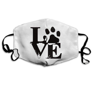 Love Animals, with 2 Carbon Pocket Filters-Furbaby Friends Gifts