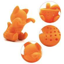 Load image into Gallery viewer, Morning Sunshine Kitten Tea Strainer-Furbaby Friends Gifts