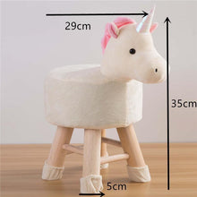 Load image into Gallery viewer, Nordic Wooden Reindeer/ Unicorn Chair-Furbaby Friends Gifts