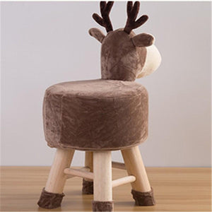 Nordic Wooden Reindeer/ Unicorn Chair-Furbaby Friends Gifts