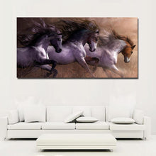 Load image into Gallery viewer, 'Paint Herd' Canvas Oil Print-Furbaby Friends Gifts