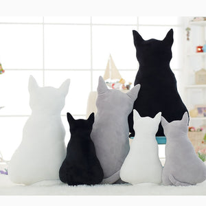 Cuddly Kitty Cat Cushions-Furbaby Friends Gifts