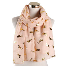 Load image into Gallery viewer, Floaty Chiffon Unicorn Scarf-Furbaby Friends Gifts