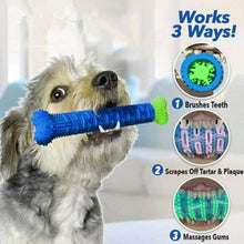 Load image into Gallery viewer, Dog Chew Toothbrush-Furbaby Friends Gifts