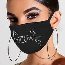 Load image into Gallery viewer, Glamourpus! Breathable, Reusable Evening Face Coverings-Furbaby Friends Gifts