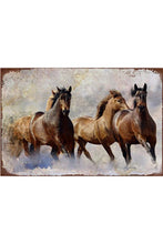 Load image into Gallery viewer, Shabby Chic Equestrian Wall Plaques-Furbaby Friends Gifts