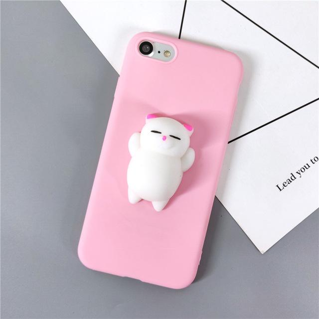 Squishy Cat Samsung Galaxy Cover-Furbaby Friends Gifts