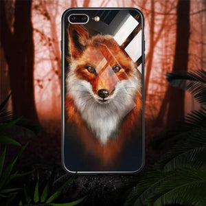Animal  Phone Case For iPhone X 7 8 Plus Xs Max X - Phone Case Evolution
