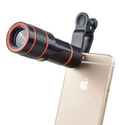 Apexel HD lens 12 X Zoom Telephoto Lens kit 4 in 1 Smart Phone - Phone Case Evolution