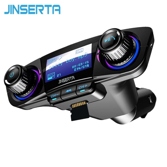 Bluetooth Handsfree Car Kit TF USB Music AUX Audio MP3 Player - Phone Case Evolution