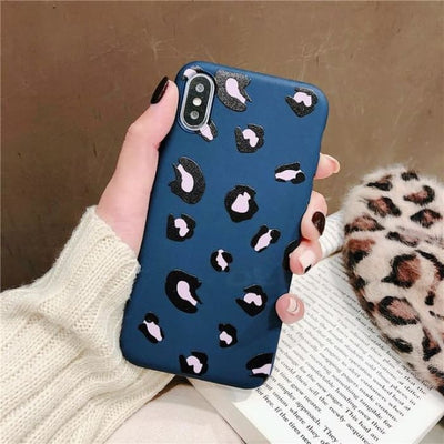 Fashion Colorful Leopard Print Phone Case For iPhone XS Max - Phone Case Evolution