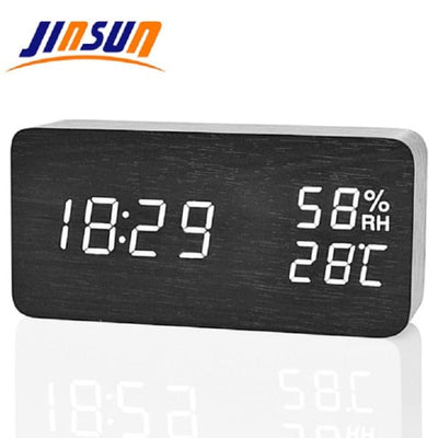 JINSUN Modern LED Alarm Clock - Phone Case Evolution