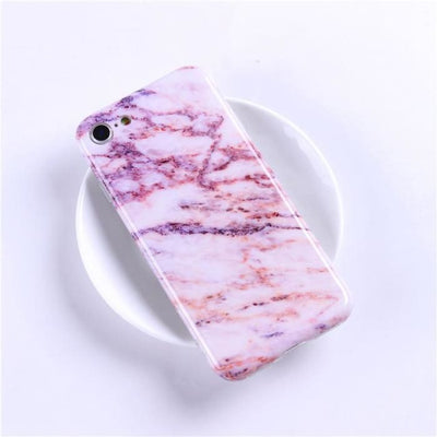 Luxury Marble Phone Case For iPhone 7 Case For iPhone X 7 6 6S 8 Plus Case Cover - Phone Case Evolution