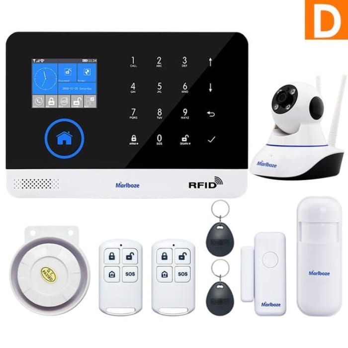 Marlboze  Wireless Home Security WIFI GSM GPRS Alarm system - Phone Case Evolution