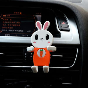 Rabbit Cartoon Mobile Phone  Safe Driving Holder GPS Accessories - Phone Case Evolution