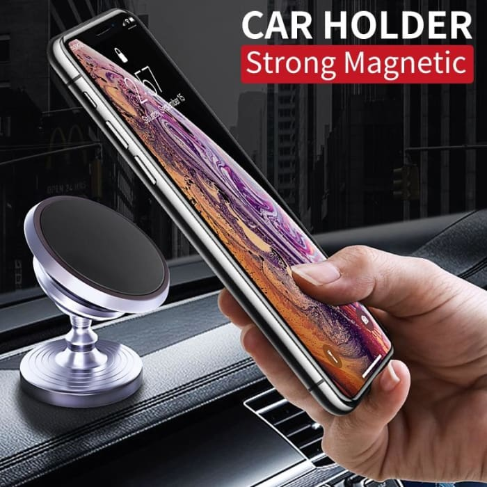 Universal Cell Phone Metal Car Holder - Phone Case Evolution