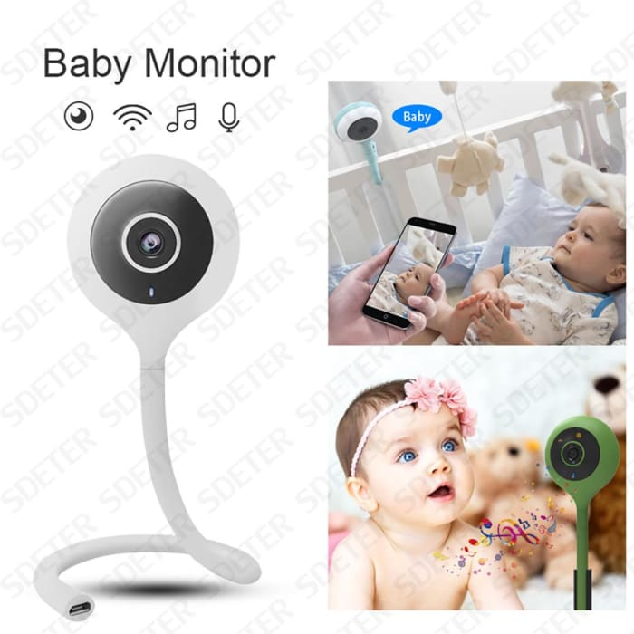 Wifi Baby Security Camera  Talk Night Vision Temperature Monitor - Phone Case Evolution